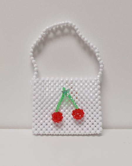 Susan Alexandra Ma Petite Cherie Bag - White