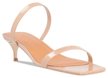 BY FAR Thalia - Nude Patent Leather