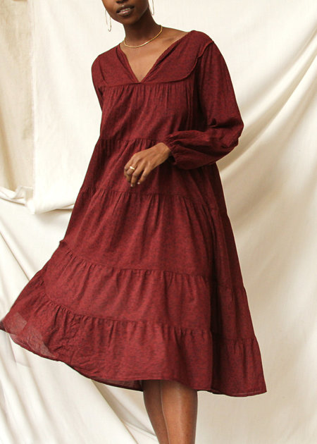c193074af0c1 Lacausa The Savannah Dress - Jam Lacausa The Savannah Dress - Jam
