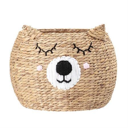Kids Bloomingville Woven Bear Basket