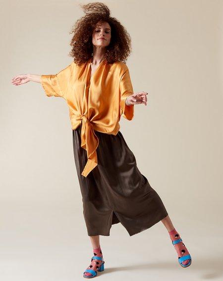 Miranda Bennett Paper Bag Skirt - Badlands