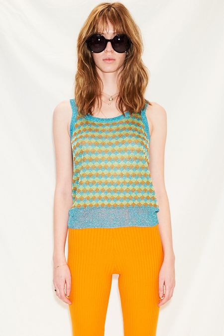 Happy Sheep Lurex Knit Vest