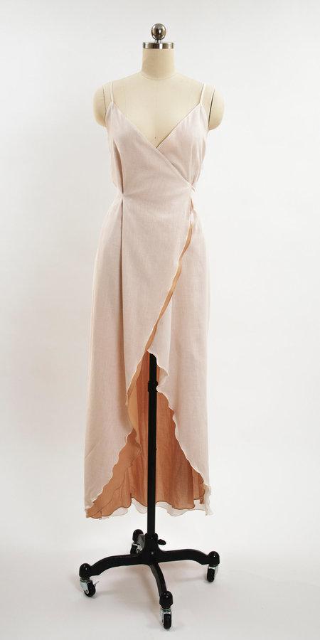 Petit Mioche Organic Cotton Wrap Dress