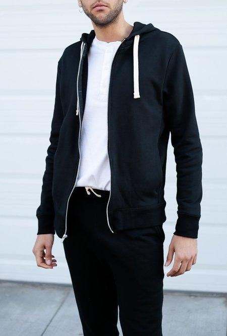 Richer Poorer Zip Hoodie - black