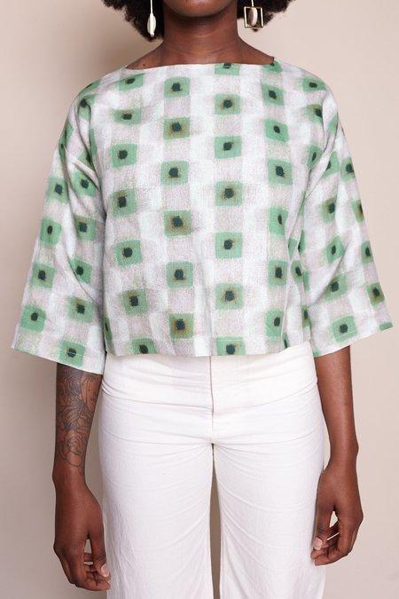 Samuji Brencis Shirt - Green Powder