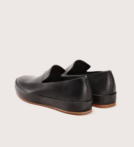 Feit Hand Sewn Slipper - Black