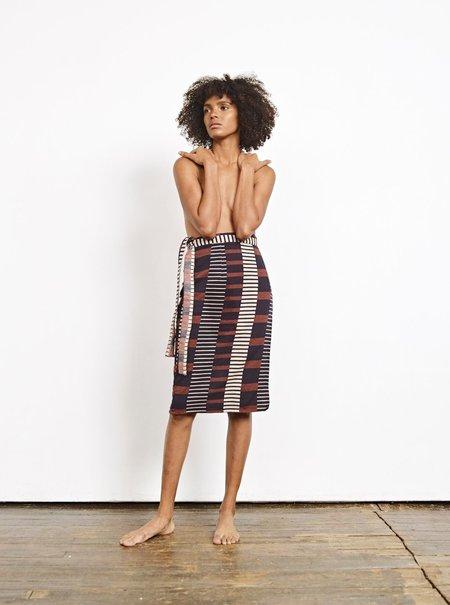 Ace & Jig Reversible Wrap Skirt - Lockwood