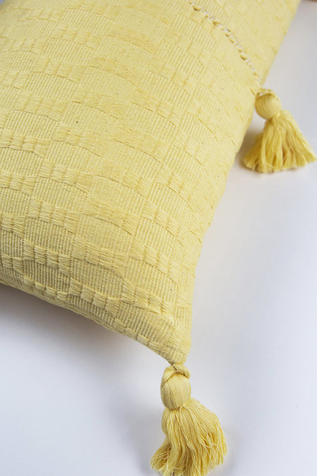 Archive New York Antigua Pillow - Butter Solid