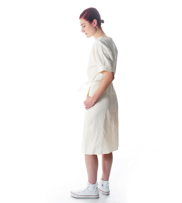 Caron Callahan Cream Pia Dress