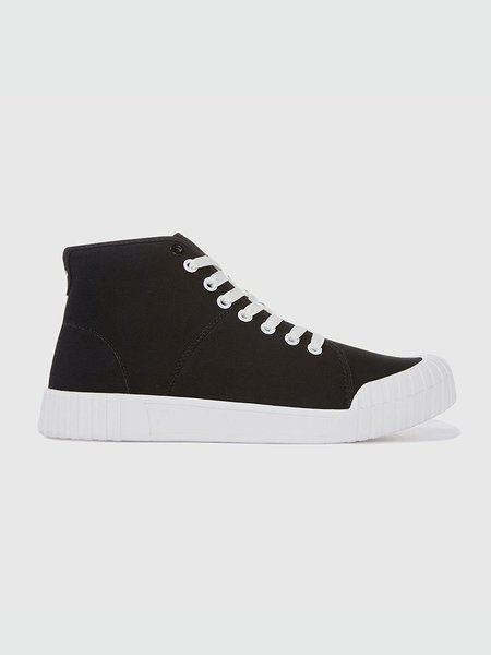 Unisex Good News Bagger High Sneakers - Black