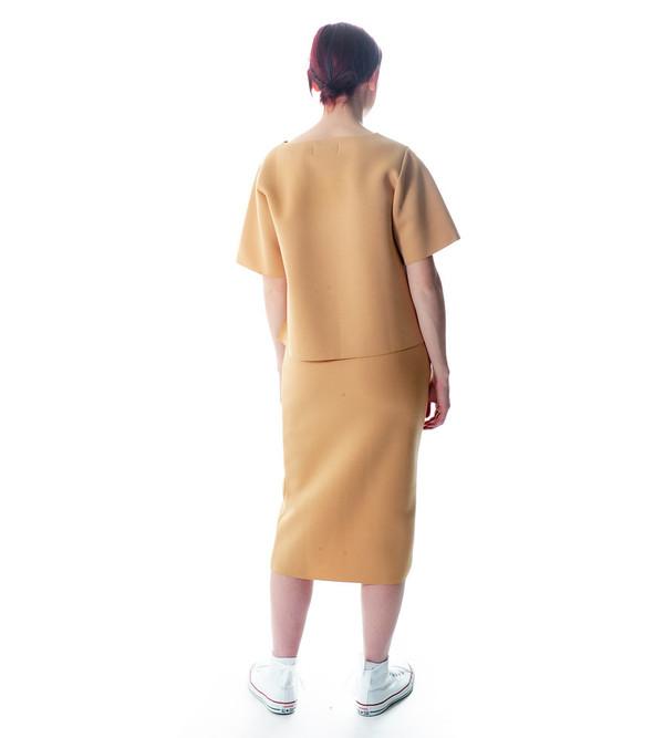 Won Hundred Tan Holly Neoprene Skirt
