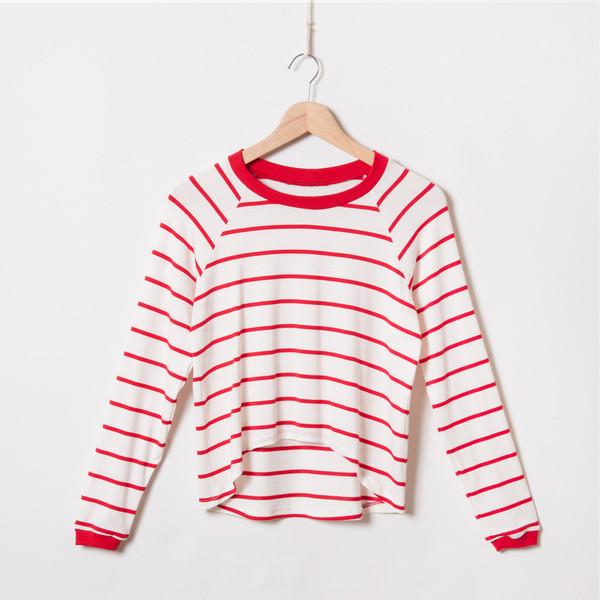 MEEMOZA Striped Pullover