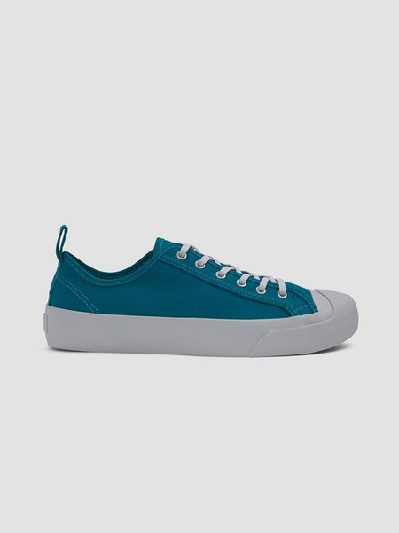 YMC Wing Tip Trainers Shoes - Teal