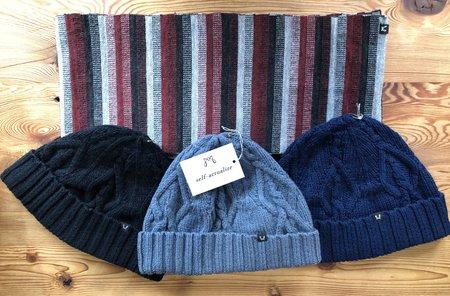 Myrrhia Fine Knitwear Wool Caps