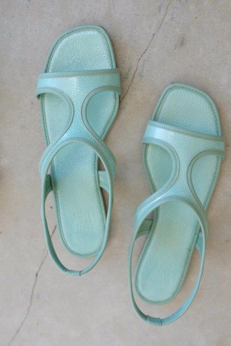 Maryam Nassir Zadeh MNZ Corazon Sandal - Aqua Bead
