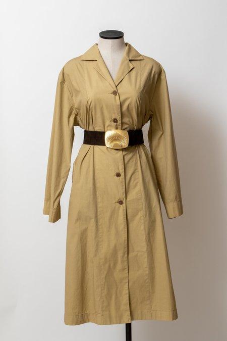 Hache Trench Coat Dress