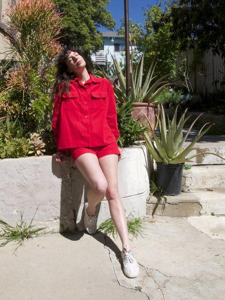 Carleen Summer Suit - Cherry