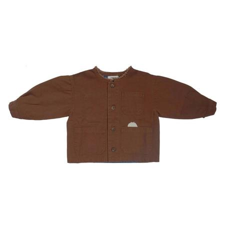 KIDS Tambere Brodo Patch Jacket - Choco Brown
