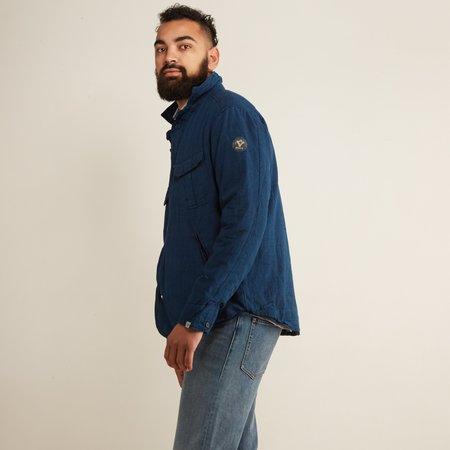 Bsbee Puffy Woven Jacket - Indigo