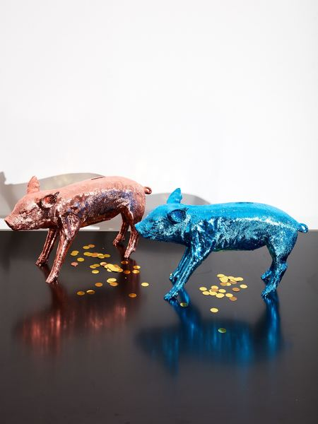 Harry Allen Reality Bank in the Form of a Pig