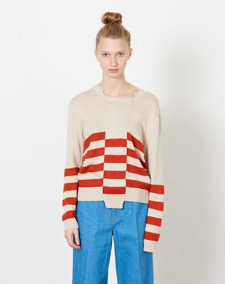 A Détacher Keats Pullover - Cream/Rust