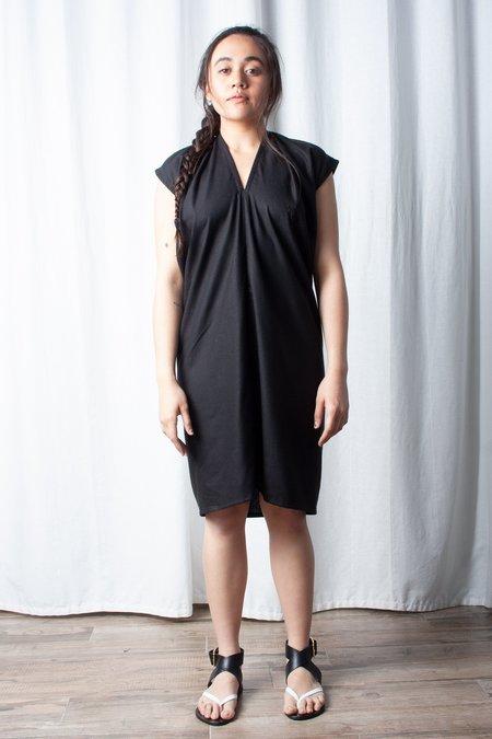 Miranda Bennett Silk Noil Everyday Dress - Black