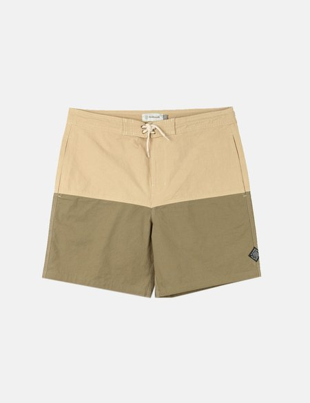 Satta Nasi Boardshorts - Khaki/Green