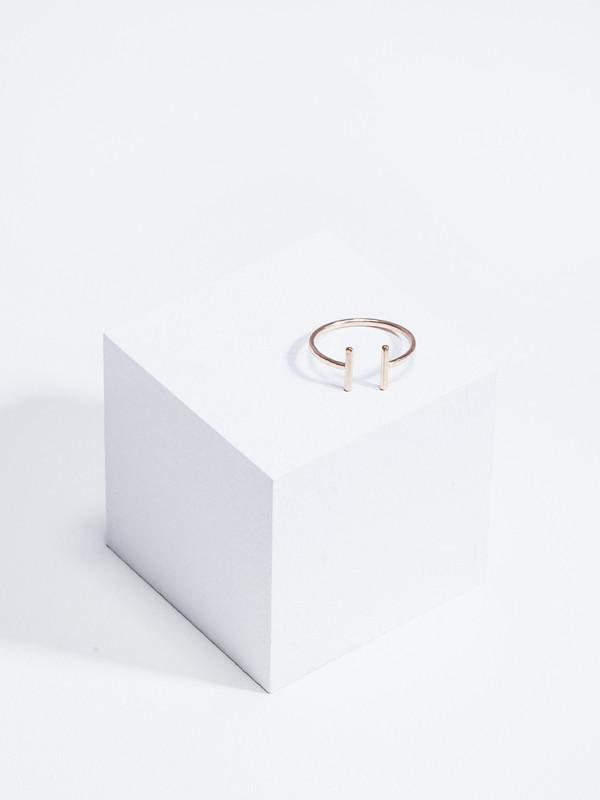 STEFANIE SHEEHAN Open Ring Gold