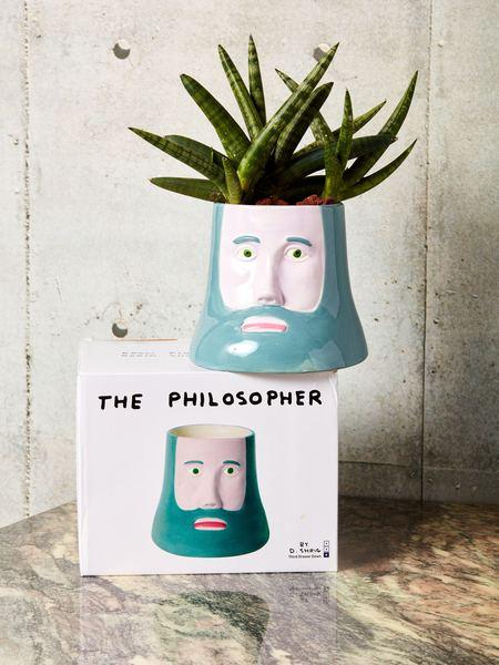 David Shrigley The Philosopher Planter