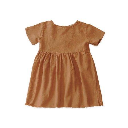 KIDS Go Gently Nation Short Sleeve Prairie Dress - Adobe