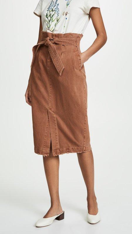 Free People Savannah Skirt - muted clay