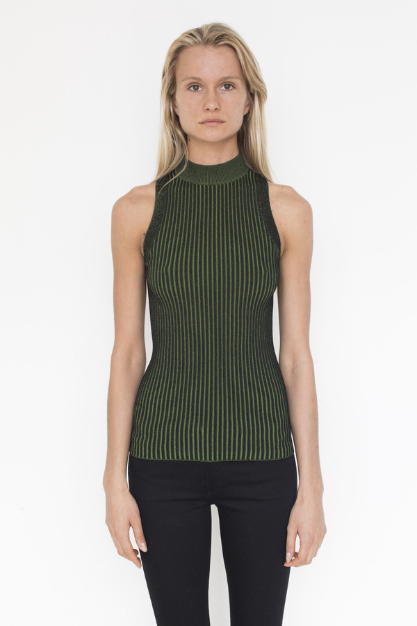 Pari Desai Viscose Hope Two-Tone Mock Tank