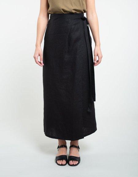 Ozma Venice Wrap Skirt - Black