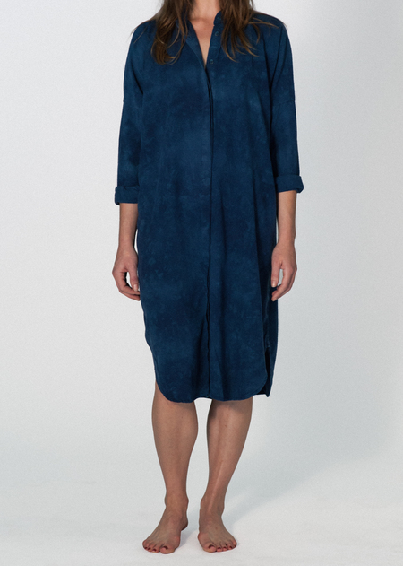 UPSTATE MARIA DRESS - INDIGO