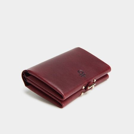 Partoem IRIS wallet - burgundy