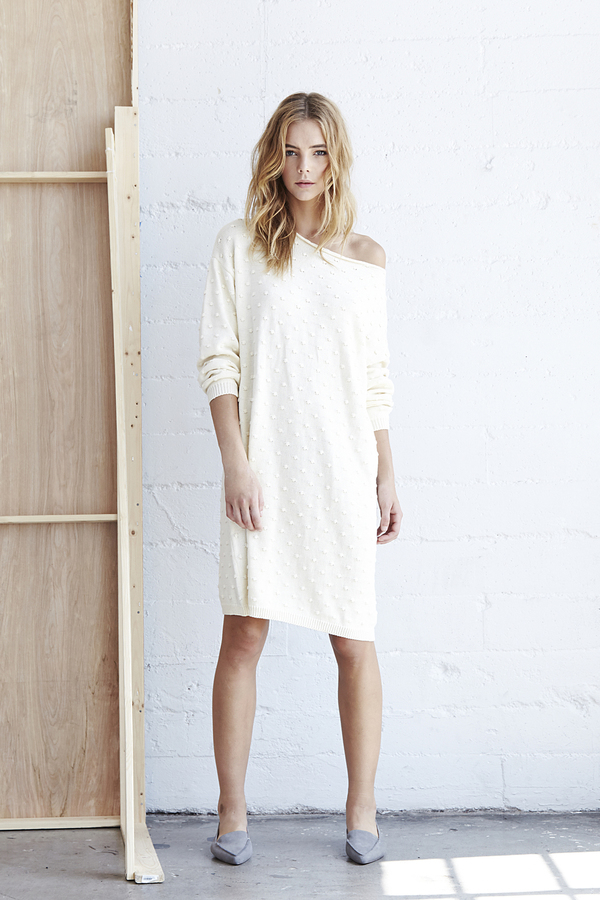 Callahan Nubby Off The Shoulder Dress