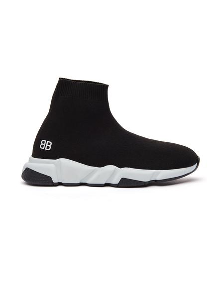 Kids Balenciaga Kids Speed Trainer Sneakers - Black