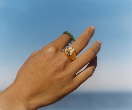 Brigitta nami signet ring