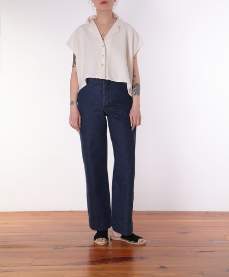 Revisited Edith Shirt - NATURAL