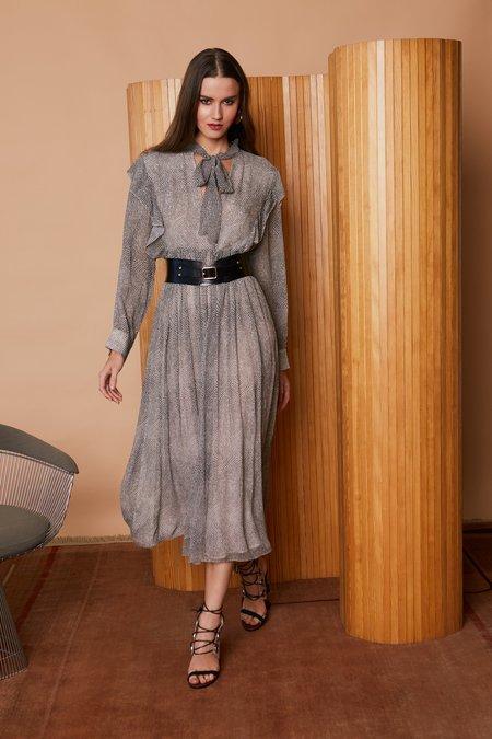 Caballero Sienna Dress - Pebble Print