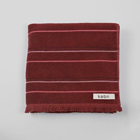 Købn Large Towel Beach/Pool/Bath - Rust