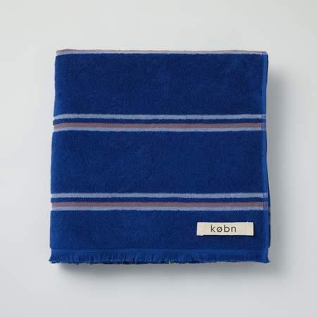 Købn Large Towel Beach/Pool/Bath - Ultra Blue