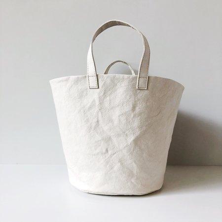 Uashmama Washable Paper Bucket Bag Medium