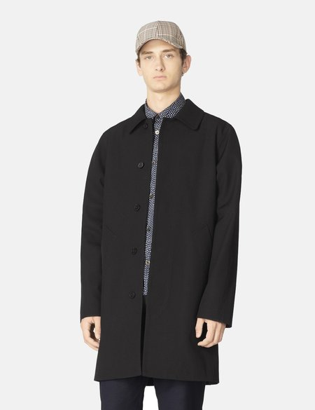 A.P.C. Ivan Coat - Dark Navy Blue