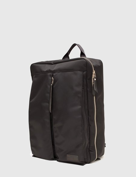 Buddy Luster Zip-up Backpack - Black