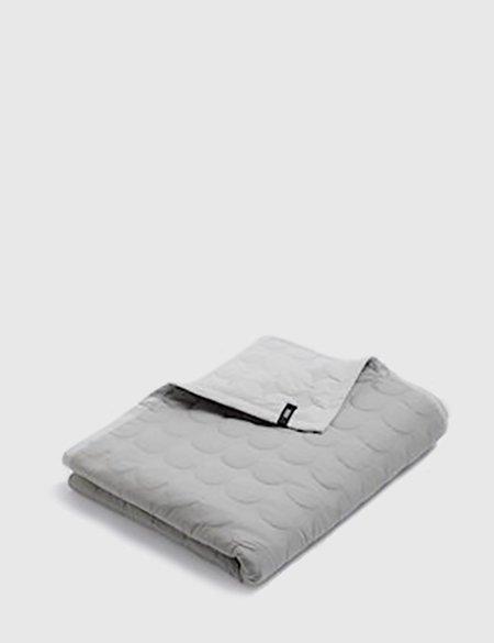 Hay Mega Dot Blanket - Light Grey