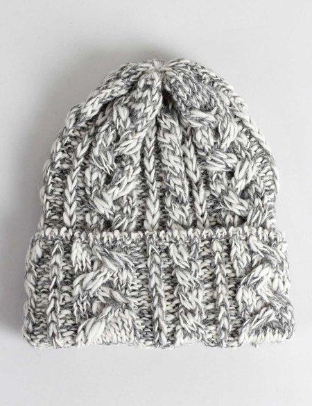 Highland Headwear Highland UK Made Slub Wool Beanie Hat - Grey