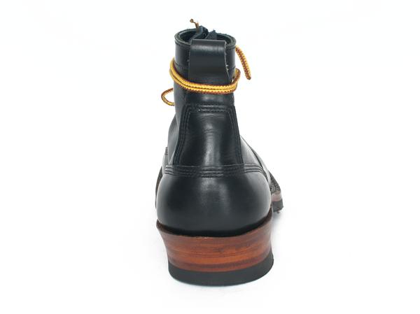 Men's White's Boots Black Dress Smoke Jumper