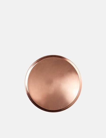 Serax Round Large Tray - Copper