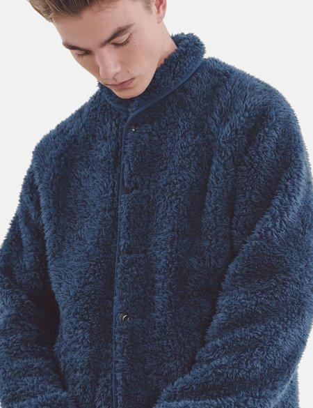 YMC Beach Jacket - Blue Fleece